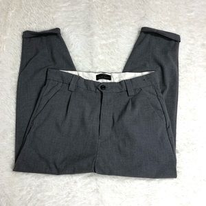Pull&Bear Spain Size 9 Gray Trousers Cropped